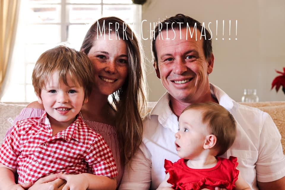 Lia's Christmas Family Photo