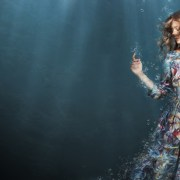 woman in water overwhelm