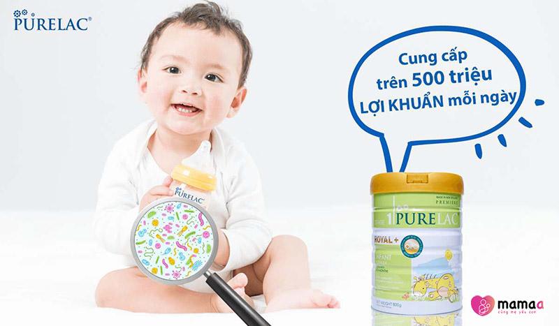 Tác dụng sữa purelac