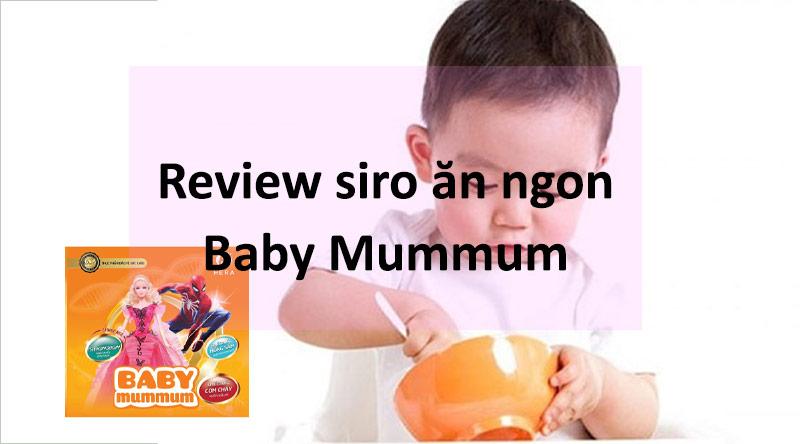 Review Baby mummum