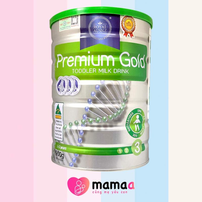 Sữa Royal Ausnz Premium Gold Toddler Milk Drink 3 cho bé 1-3 tuổi