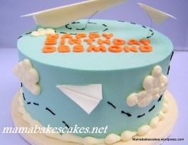 Paper Planes Cake