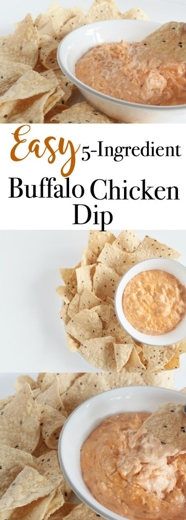 Easy 5-Ingredient Buffalo Chicken Dip - The Perfect Dish for Any Occasion   www.mamabearbliss.com