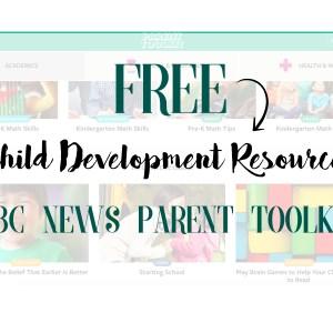 Free Child Development Resource: NBC News Parent Toolkit - NBC News Education Nation: Parent Toolkit | www.mamabearbliss.com