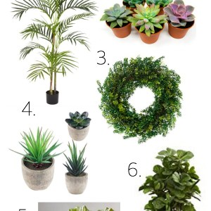Artificial indoor faux plants are low maintenance and easy plants for beginners that add to any home decor piece. Here are some realistic artificial plants for beginners.   www.mamabearbliss.com