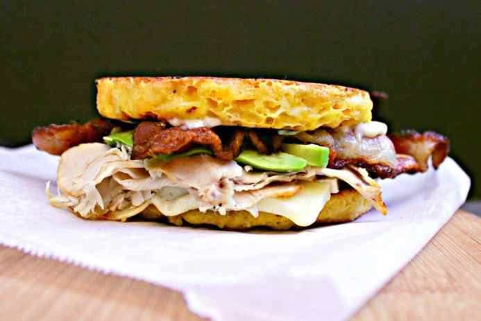 This epic low carb sandwich will knock your socks off with it's excellence. Loaded with delicious treats, this dish will be your next best friend.