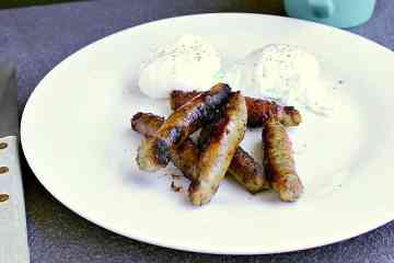 Maple Breakfast Sausages. A lovely breakfast sausage with mild herbs and a hint of maple.