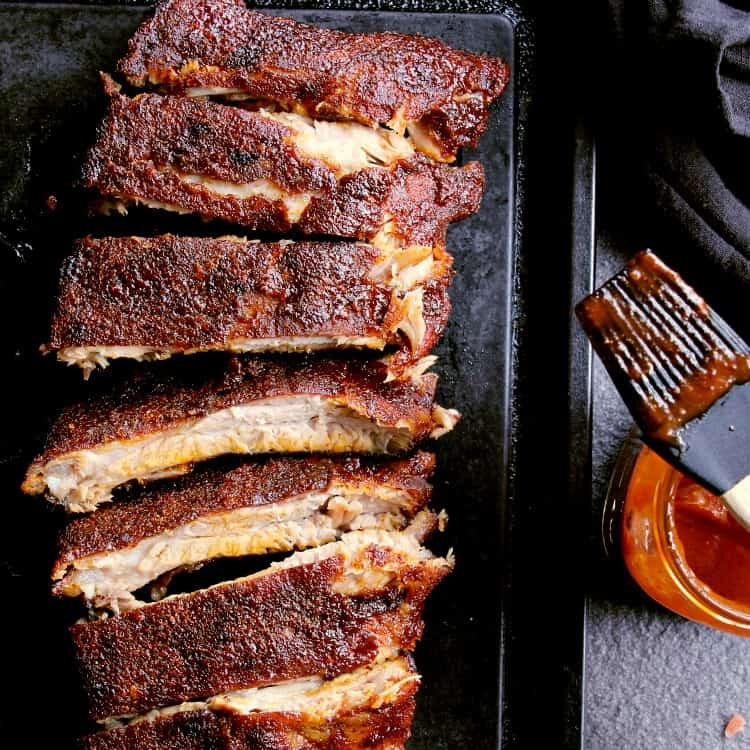 Give this Low Carb Rib Rub recipe a try for insanely flavourful ribs with a mild kick!