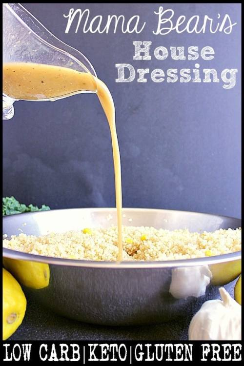 pin this house dressing recipe for later!