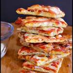 Pin this low carb pizza bites recipe for later!