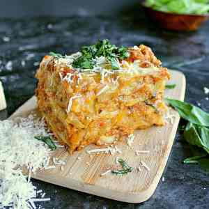 Low Carb Cabbage Lasagna.
