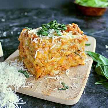 Low Carb Cabbage Lasagna.
