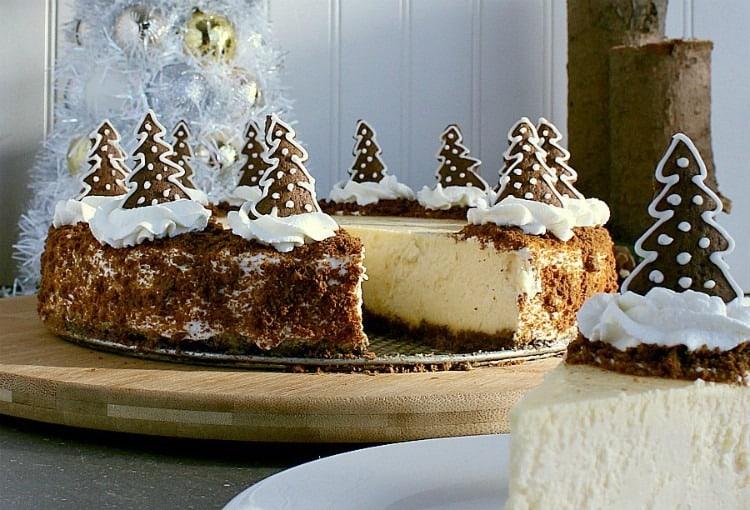 Gingerbread Crust Cheesecake - Mama Bear's Cook Book
