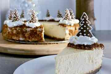 Bring on the holiday season and impress your friends and family with this incredibly delicious Gingerbread Crust Cheesecake.
