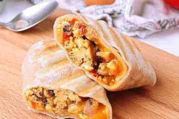 In a hurry? Have these Low Carb Breakfast Burritos ready and stored in your freezer for a delicious and filling breakfast on the go.