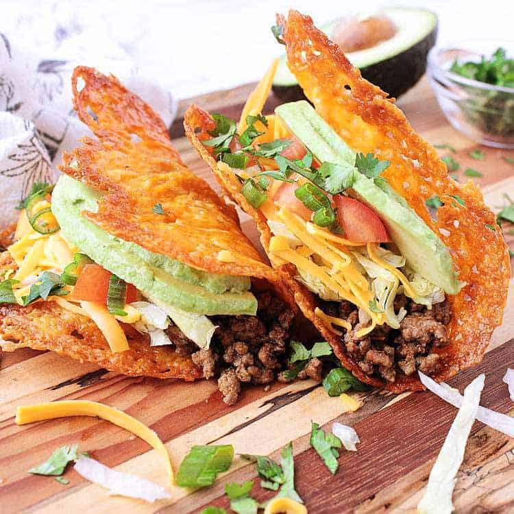 4 ways to do low carb tacos.