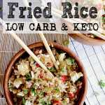 Pin this Cauliflower Fried Rice recipe for later!