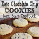 Pin this Keto Chocolate Chip Cookies recipe for later!