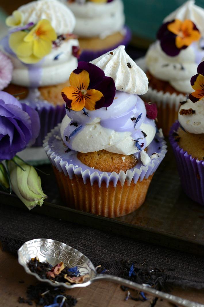 RECIPE ||  Lavender & Earl Grey Cupcakes