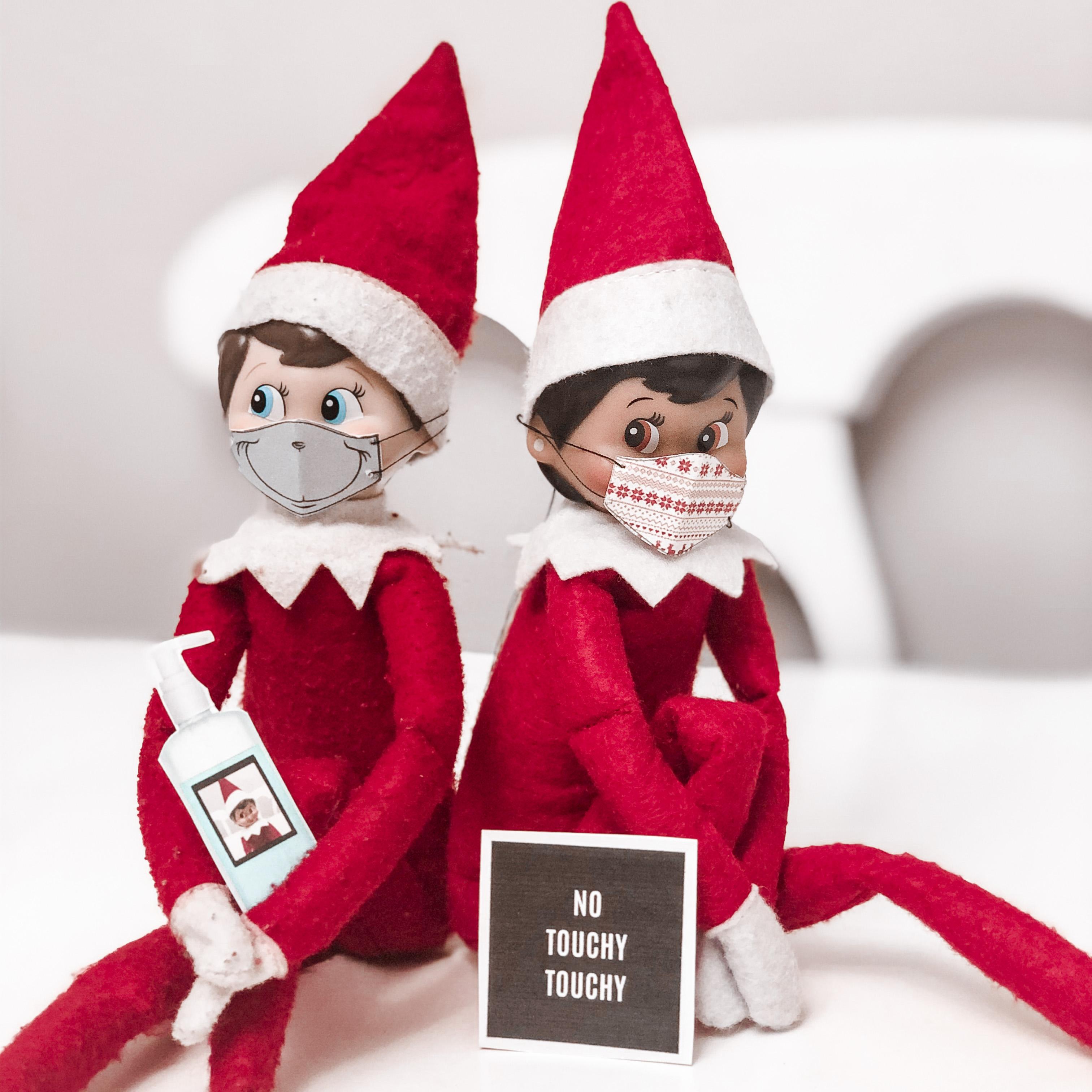 Elf On The Shelf Quarantine Kit Free Printable Mama Bear Wooten