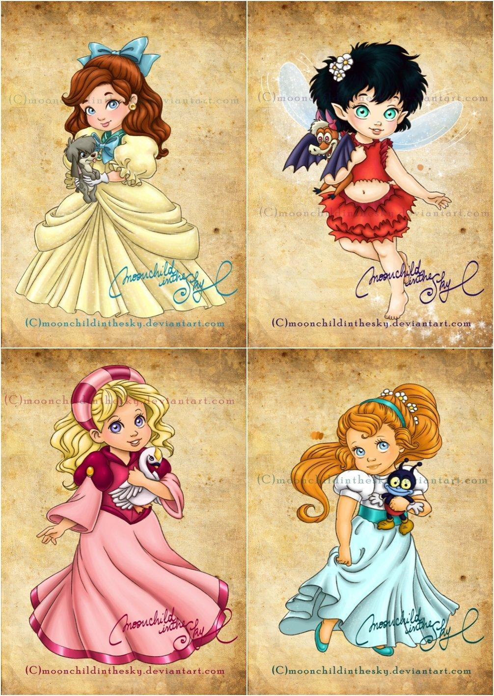The Most Adorable Recreations Of 23 Disneys Princesses