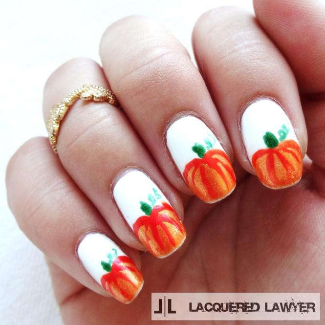 15 Easy Thanksgiving Nail Art Designs Ideas Trends Stickers 2016
