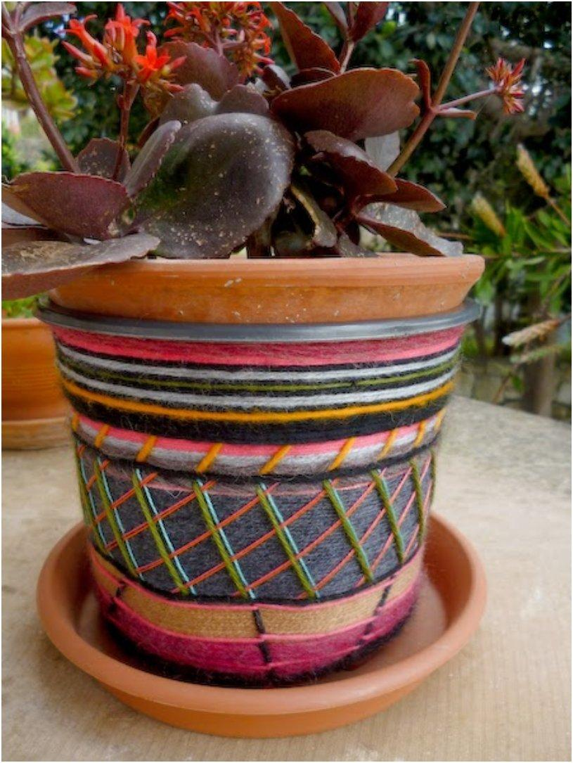 Making Clay Flower Pots