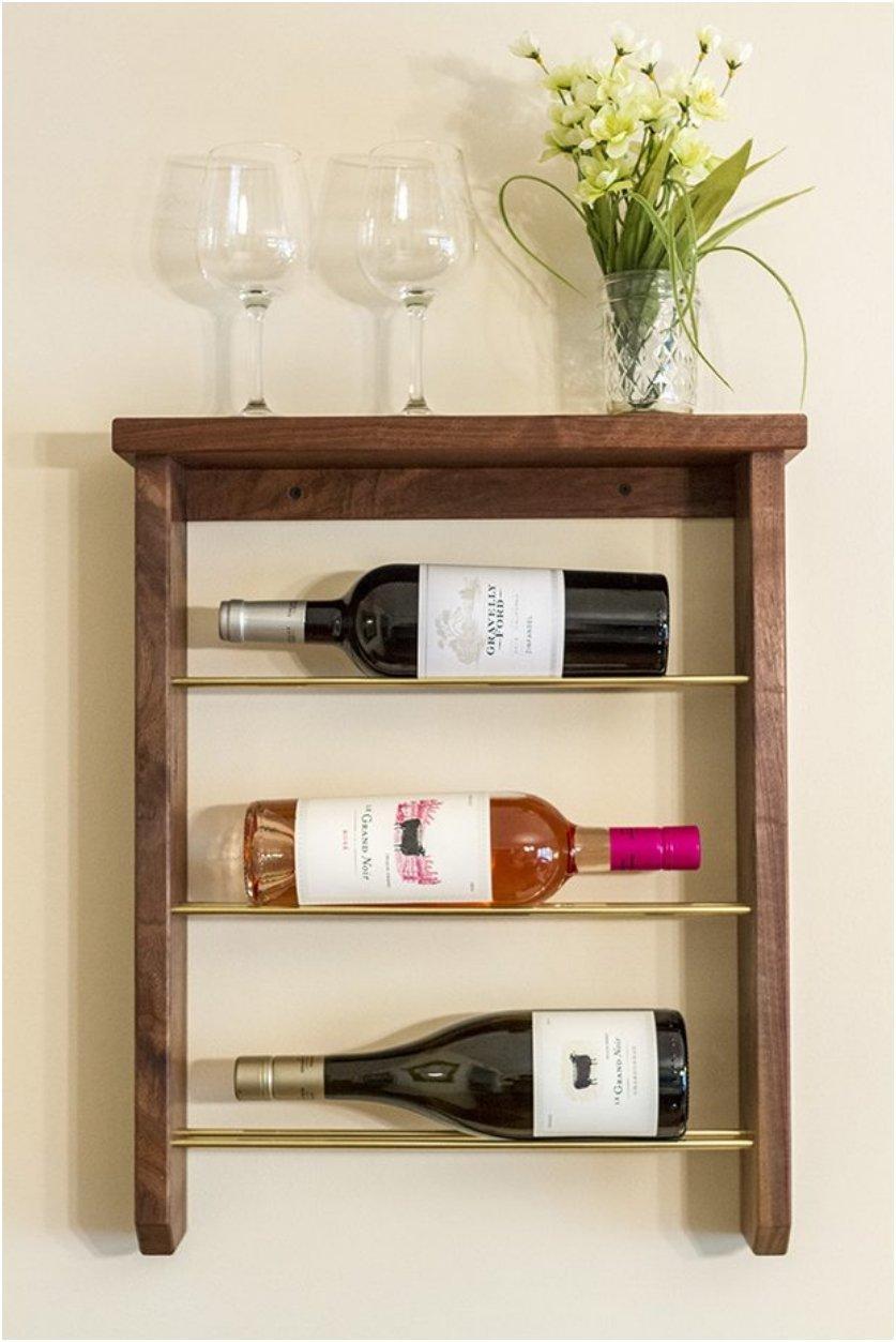 Display Your Fine Wines On These 15 Wonderful Diy Wine Racks