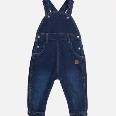 Baby Latzhose aus Jeans von Hust & Claire