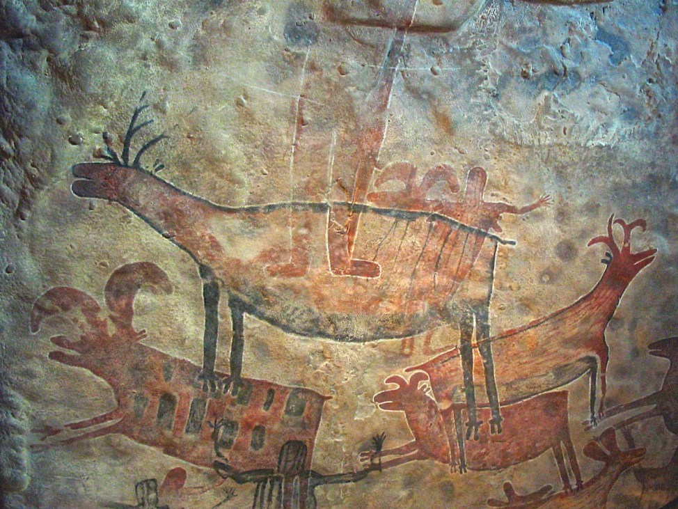 Cave Drawings - present