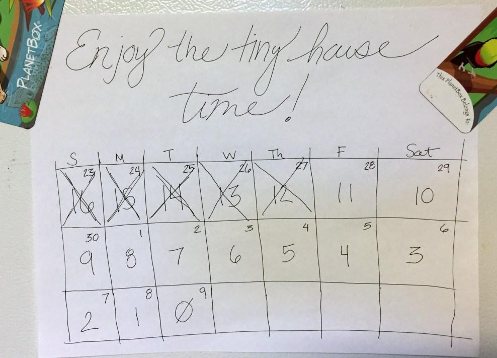 Tiny House Countdown