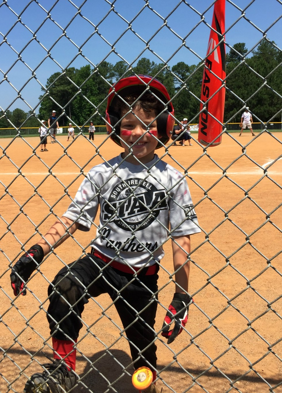 Last TBall Game - May Busyness