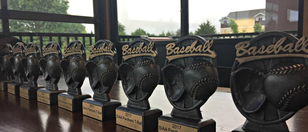 Tball Trophies - May Busyness