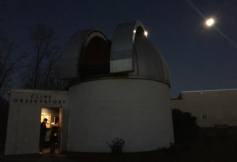 Cline Observatory Instead of Movie Night