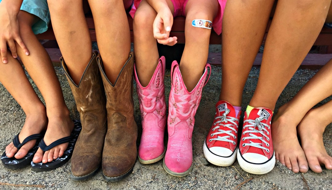 Shoe Assortment at the Rodeo