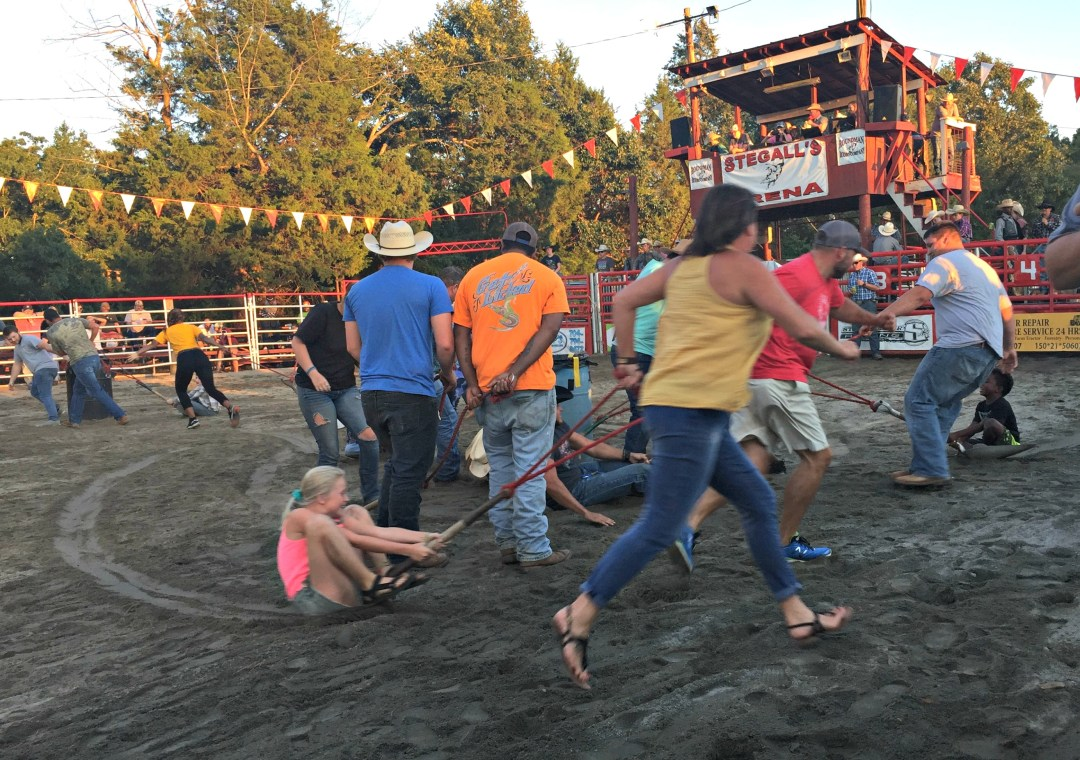 Shovel Race at the Rodeo