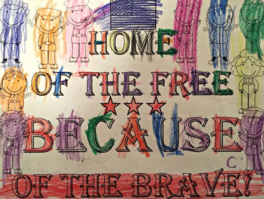 Veterans Day Home of the Free