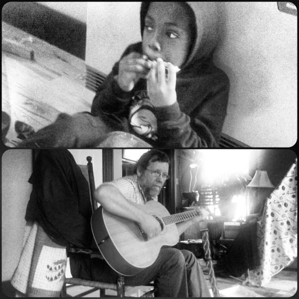Blues duet
