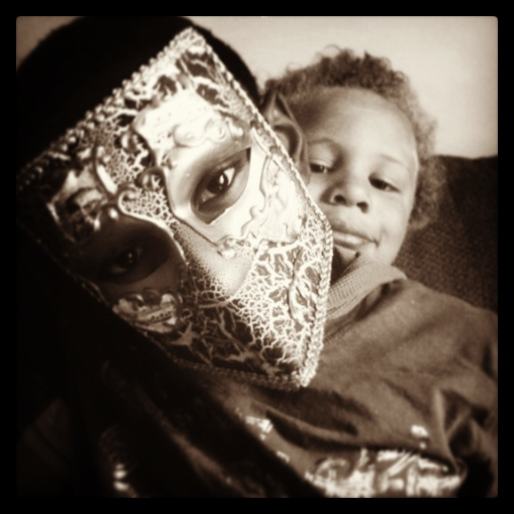 Mardi Gras mask 2013