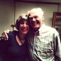 With Dad in Santa Fe, 2013