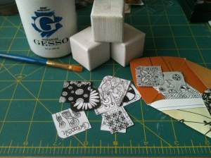 Zentangle Project in Progress 2012.05.03