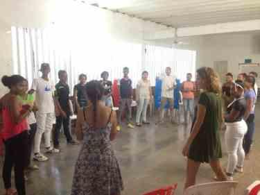 Taller impartido en Las Américas, Cartagena de Indias