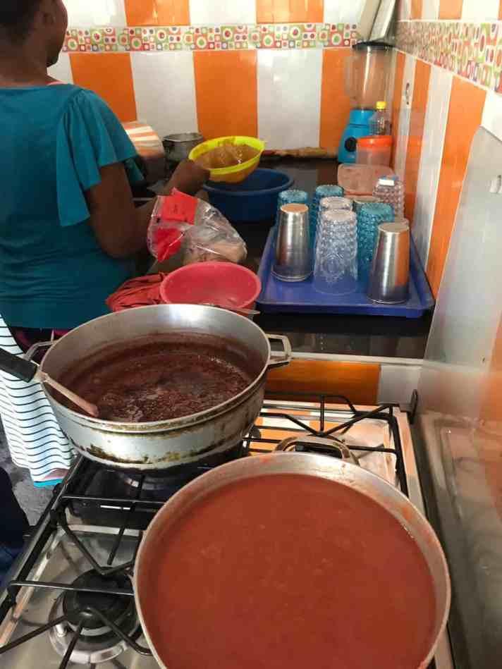 Proceso de elaboración de las mermeladas frutales