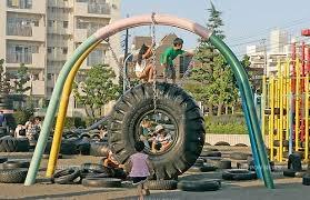 детская площадка Nishi Rokugo