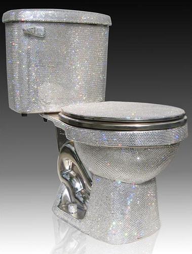 брилиантовый туалет
