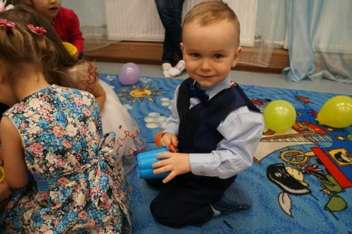 день рождения малышу 2 года