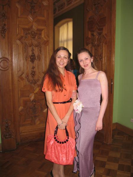 Мариэль Волкова и Юлия Чиркова