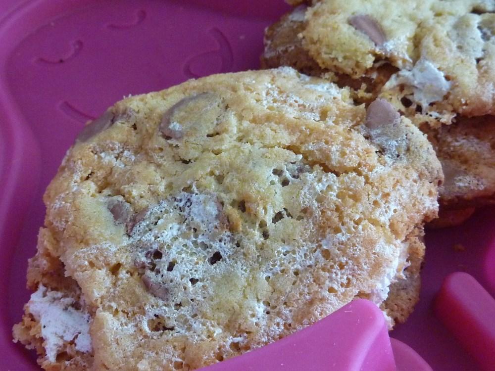 Cookies  Marshmallow Fluff et pépite de chocolat  (2/3)