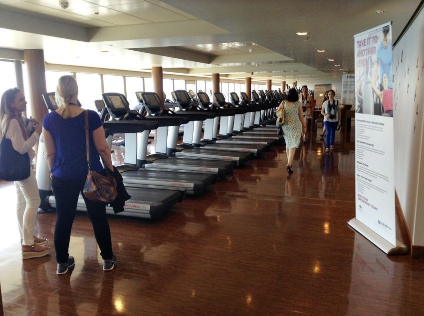 gimnasio Norwegian Epic