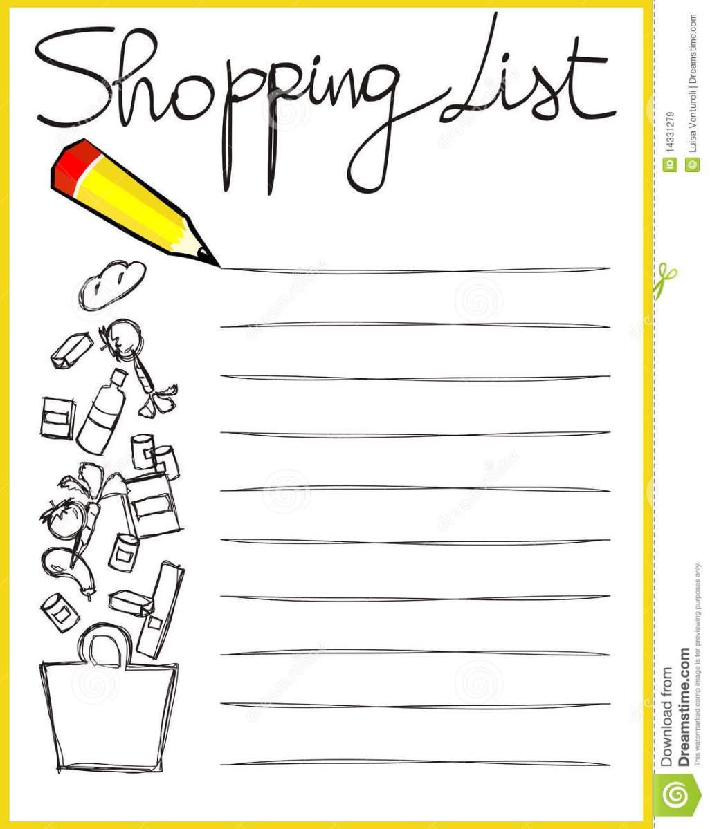 """Listă de cumpărături """"Sunt mare, am doi ani! :)"""""""